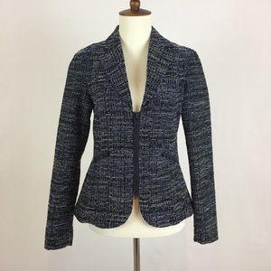 CAbi Tweed Zip up Blazer